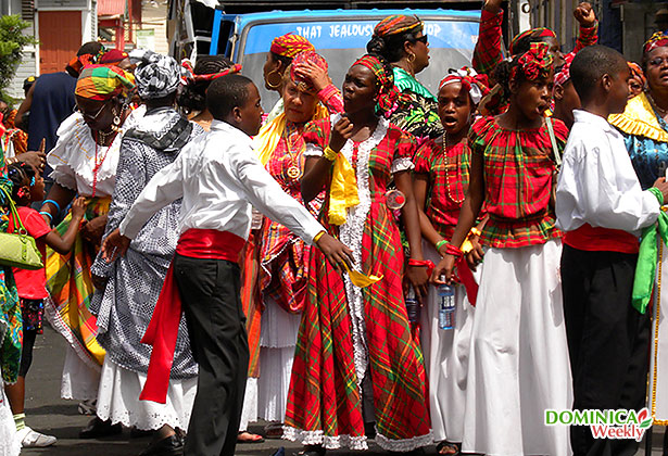 Dominica creole costumes