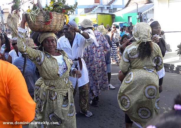 Dominica Carnival 2014 Opening Parade: Carnival Costumes